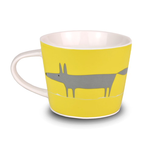 Charcoal & Yellow - Mr Fox Mini Mug