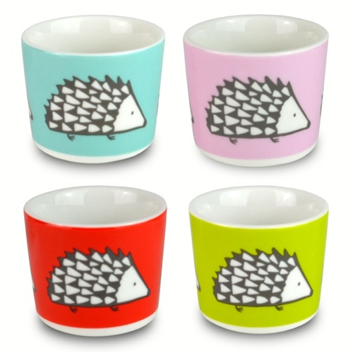 Set of 4 Egg Cups - Spike